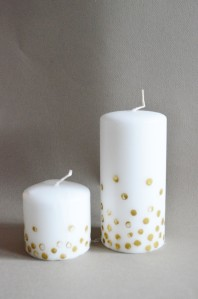 Finished Candles