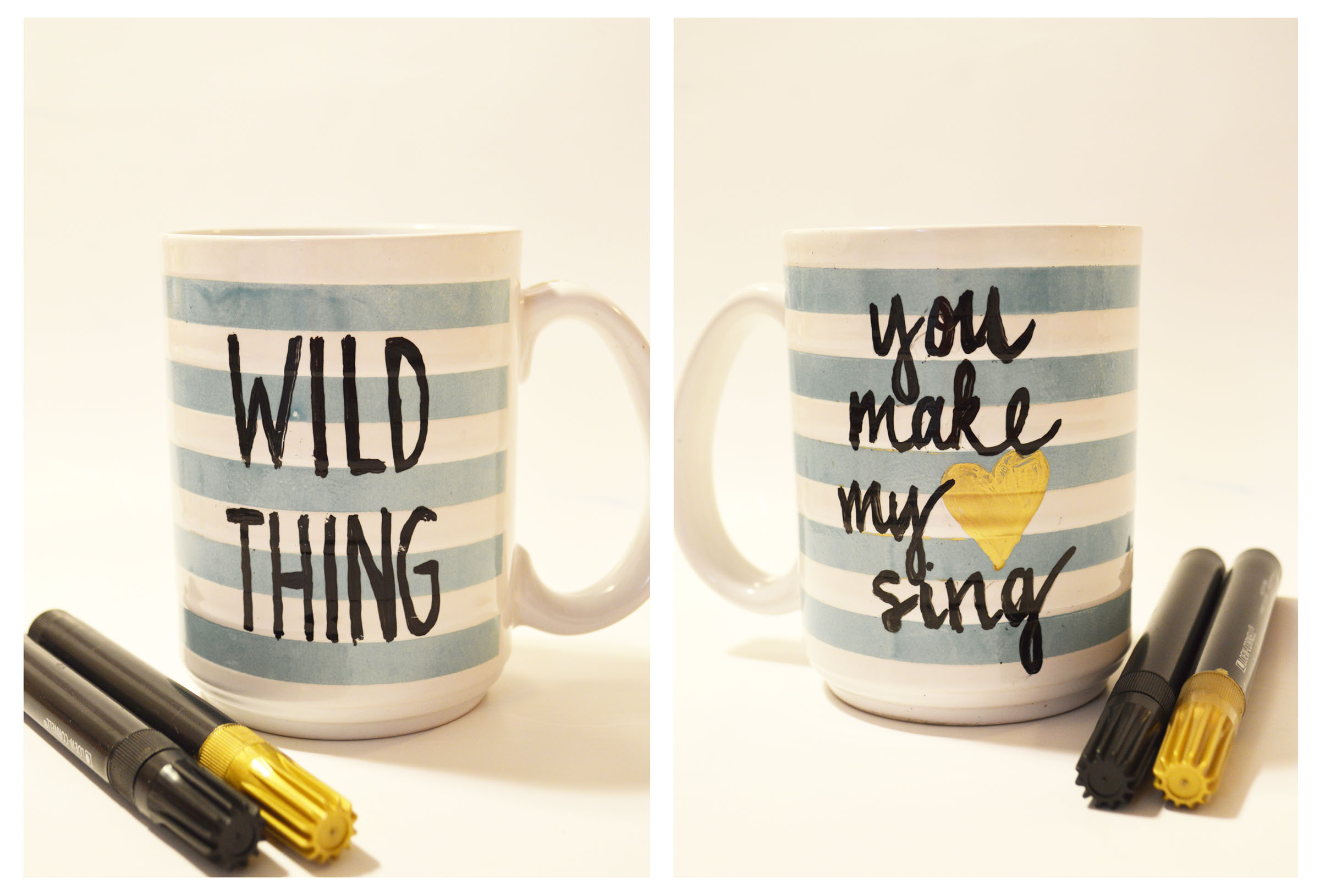 DIY Coffee Mugs…Revisited | Trailer Trash Treasure Trove