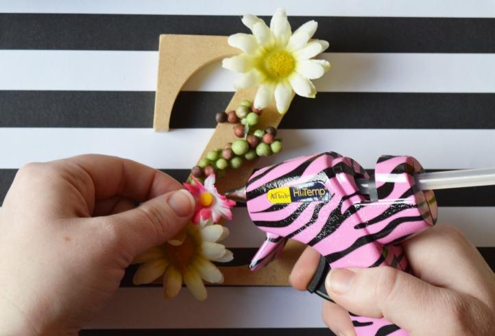 Gluing Flowers