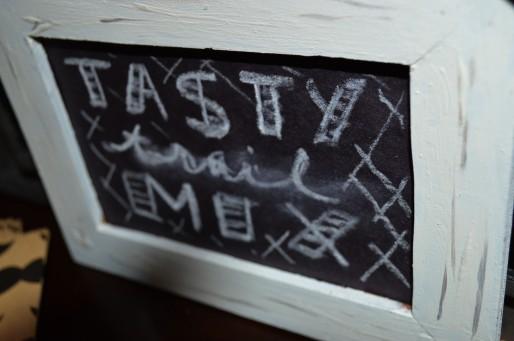 Tasty Trail Mix Sign