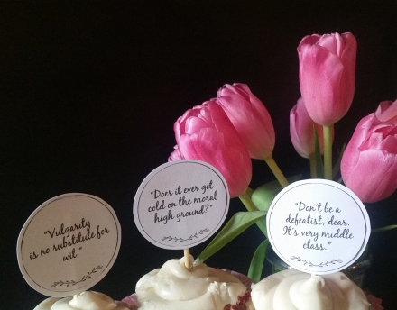 Cupcake Toppers Closeup